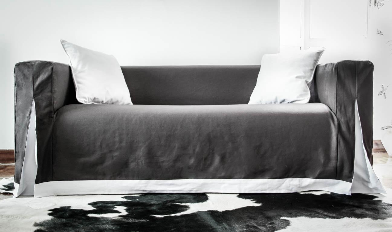 Sofas Center : Marvelousfa Leather Cover Images Concept Black Throughout Sofas With Black Cover (Image 19 of 20)
