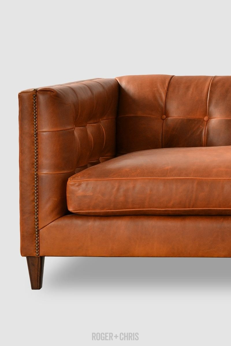 Featured Photo of Mid Century Modern Leather Sectional