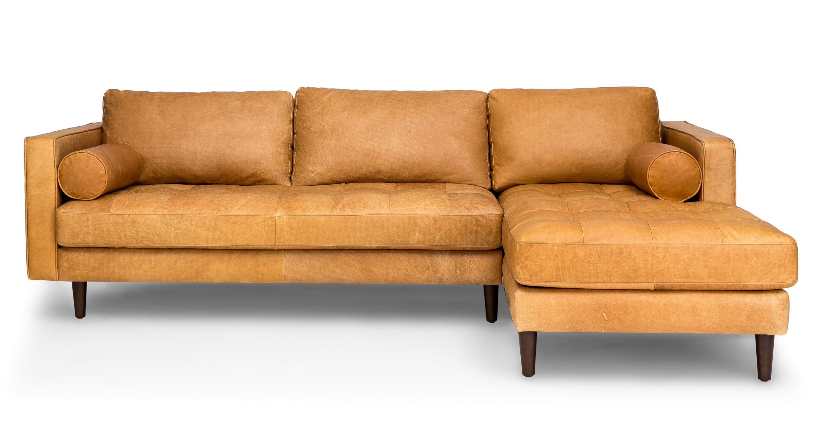 Sofas Center : Mid Century Modern Sectional Sofa Curved Style Intended For Mid Century Modern Leather Sectional (Image 17 of 20)