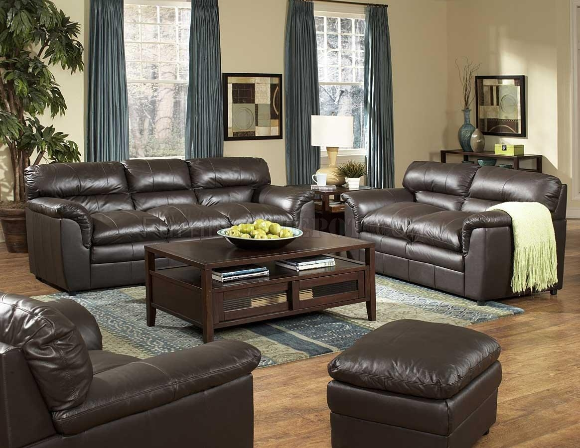 Sofas Center : Modern Black Leather Sofa Set And Loveseat For Black Leather Sofas And Loveseats (Image 20 of 20)