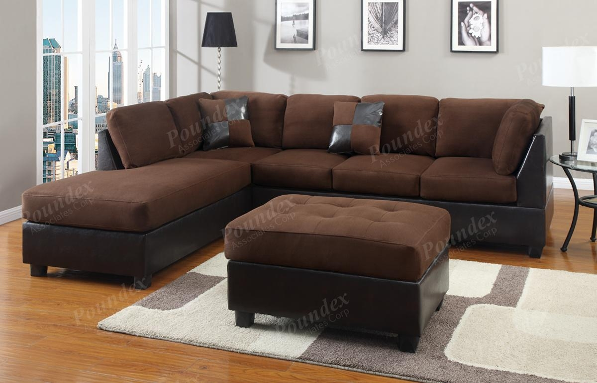 Sofas Center : Modern Microfiber Sectional Sofas Ashley Furniture Inside Small Microfiber Sectional (Image 20 of 20)