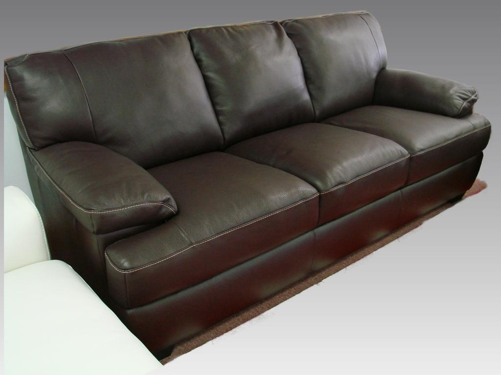 American sofas alfred leather sofa cb2 the westminster for Cb2 leather sectional