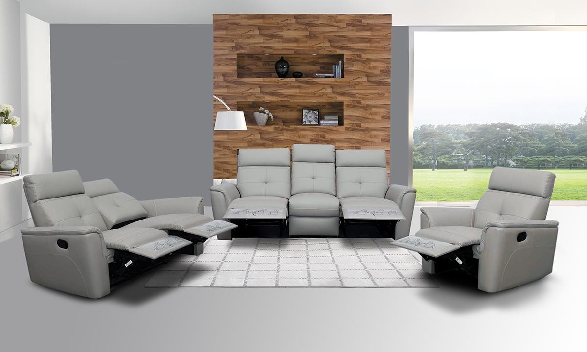 Sofas Center : Modern Reclining Sofa Contemporary Recliner In Modern Reclining Leather Sofas (View 13 of 20)