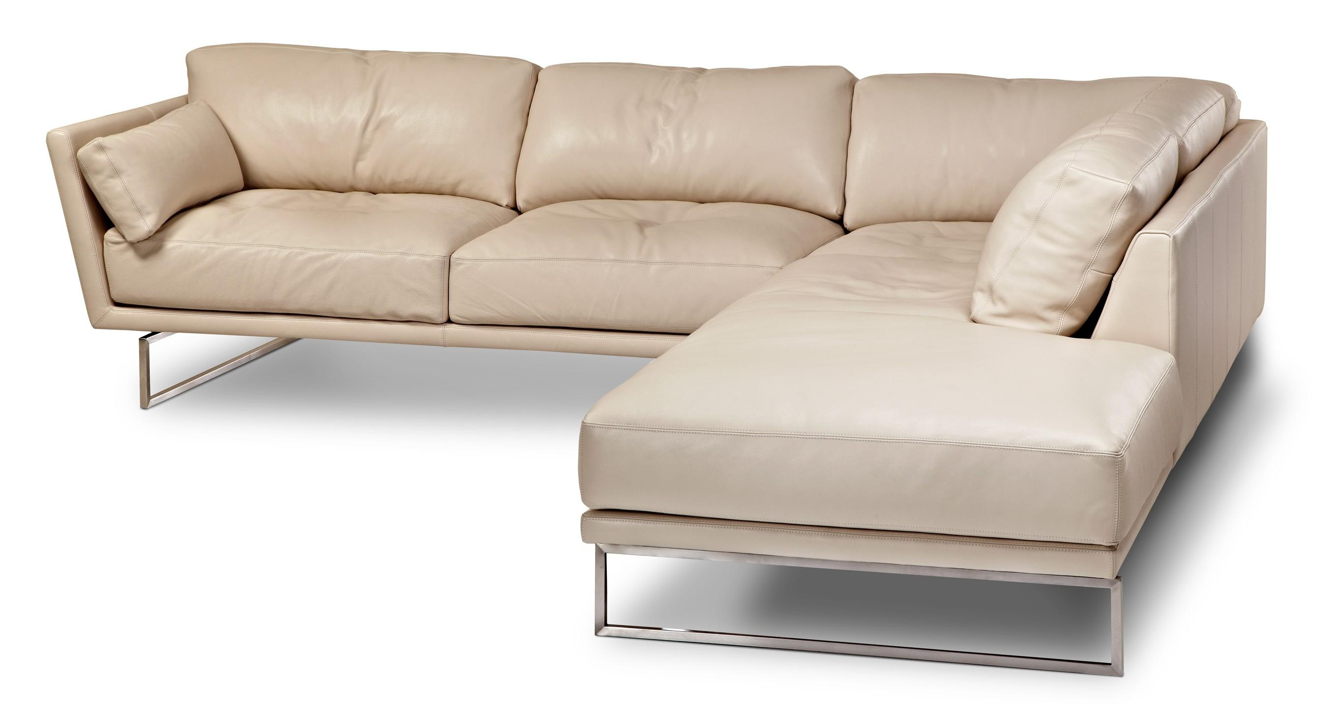 Sofas Center : Nashican Leather Sofa Discount Sleeper Sofaamerican With Sleek Sectional Sofa (Image 18 of 20)
