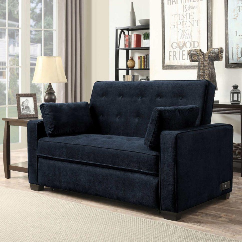 Sofas Center : Navy Blue Sleeper Sofa Trend For Table Ideas With Within Sofa Trend (Image 11 of 20)