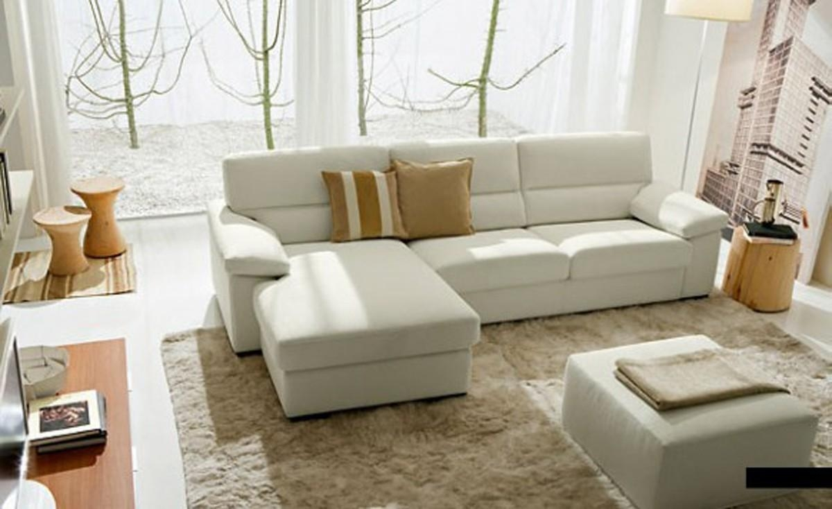 20 inspirations cream colored sofas sofa ideas - Divani letto in pelle ikea ...