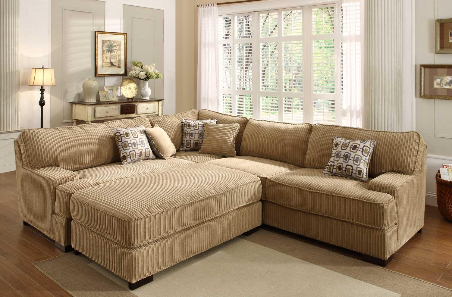 Sofas Center : Oversized Sectionals Sectional Sofas For Sale Inside Sectional Sofa With Large Ottoman (Image 18 of 20)