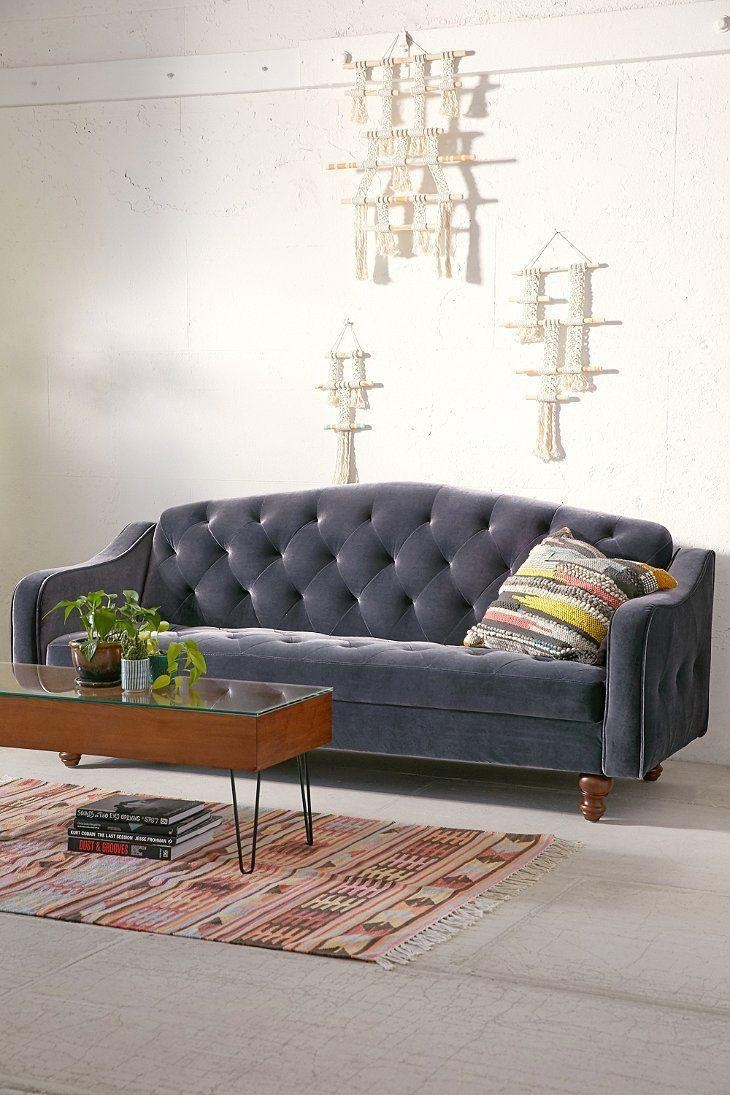 Sofas Center : Perfect Ava Velvet Tufted Sleeper Sofa Uk Pertaining To Ava Velvet Tufted Sleeper Sofas (Image 18 of 20)