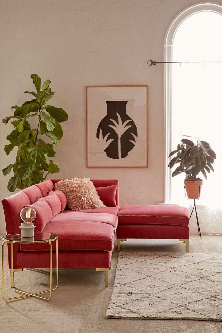 Sofas Center : Pink Velvet Sofa Remarkable Pictures Inspirations With Brown Velvet Sofas (Image 17 of 20)