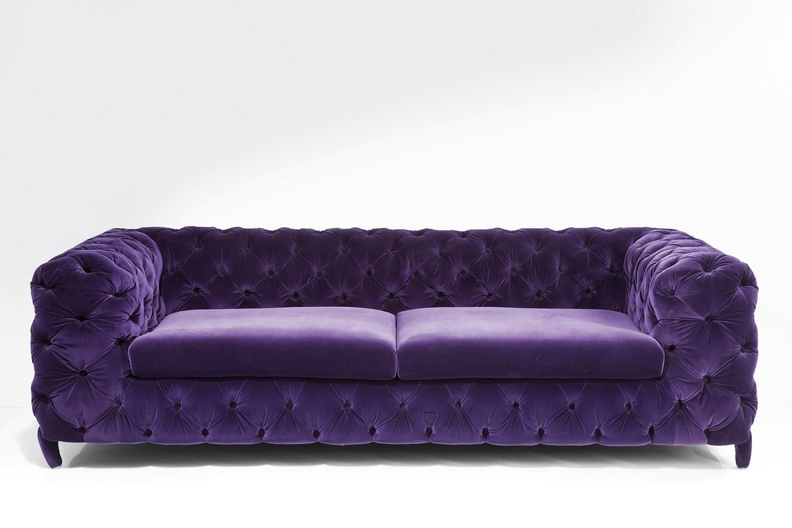 Sofas Center : Purple Sleeper Sofa Velvet Sofapurple Queenpurple Inside Velvet Purple Sofas (Image 19 of 20)