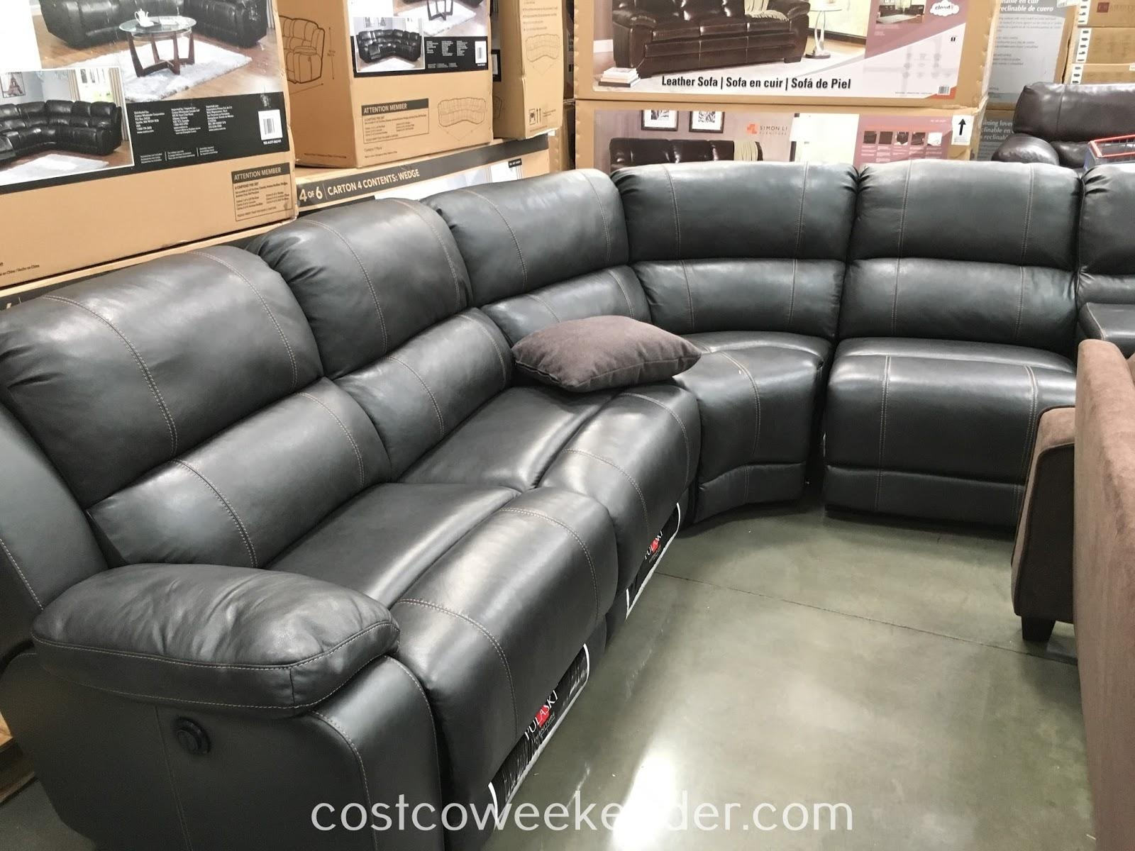 Sofas Center : Reclining Sofa Costco 2016Costco Berkline Recliner Throughout Berkline Sectional Sofa (Image 15 of 15)