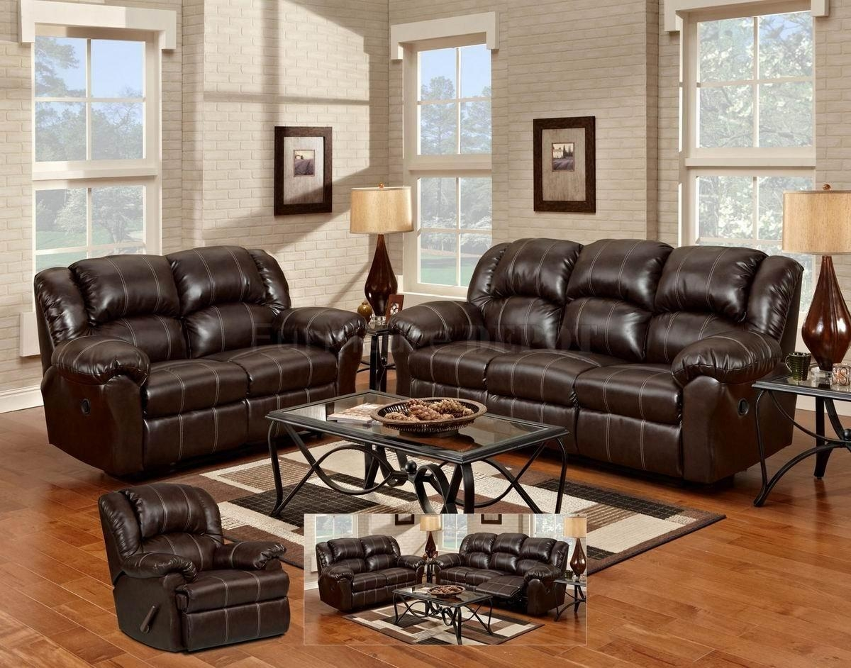 Sofas Center : Reclining Sofa Loveseat Black Leather Power And Set  Throughout Black Leather Sofas And