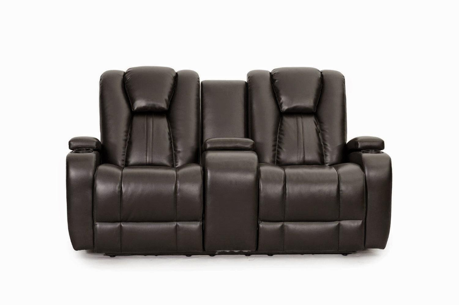 Sofas Center : Reclining Sofa With Console Thesofa Double Recliner For Sofas With Console (Image 17 of 20)