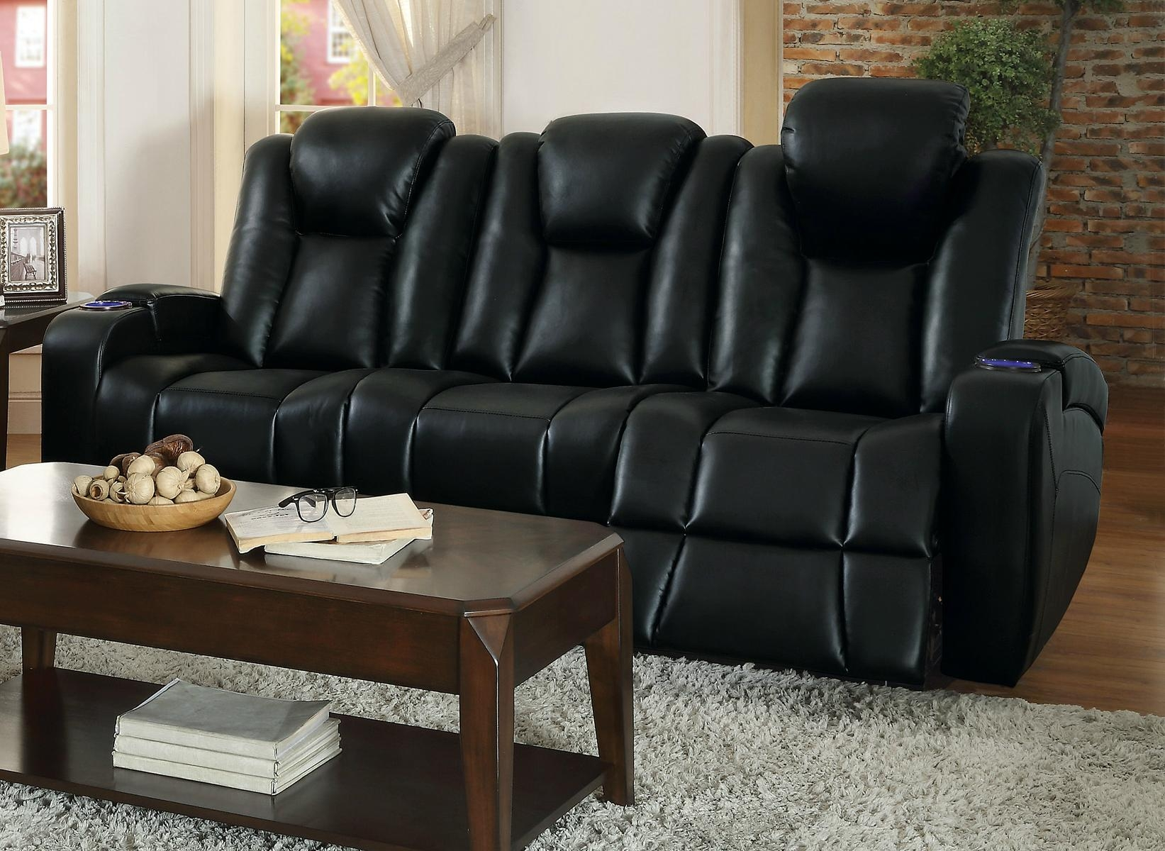 Sofas Center : Reclining Sofas With Consoles Dual Sofa Center Pertaining To Sofas With Consoles (Image 18 of 20)