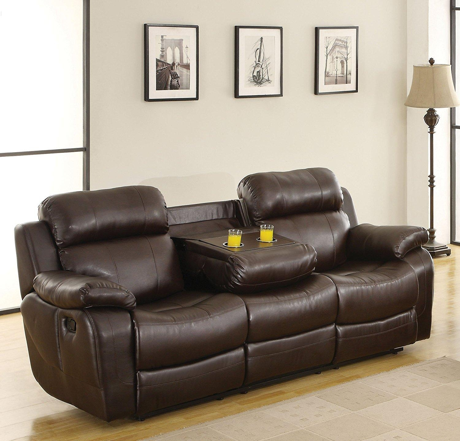 Sofas Center : Reclining Sofas With Consoles Dual Sofa Center Regarding Sofas With Consoles (Image 19 of 20)