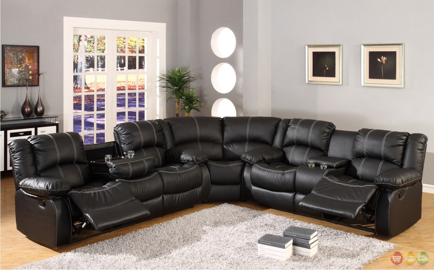 Sofas Center : Reclining Sofas With Consoles Dual Sofa Center Throughout Sofas With Console (Image 18 of 20)