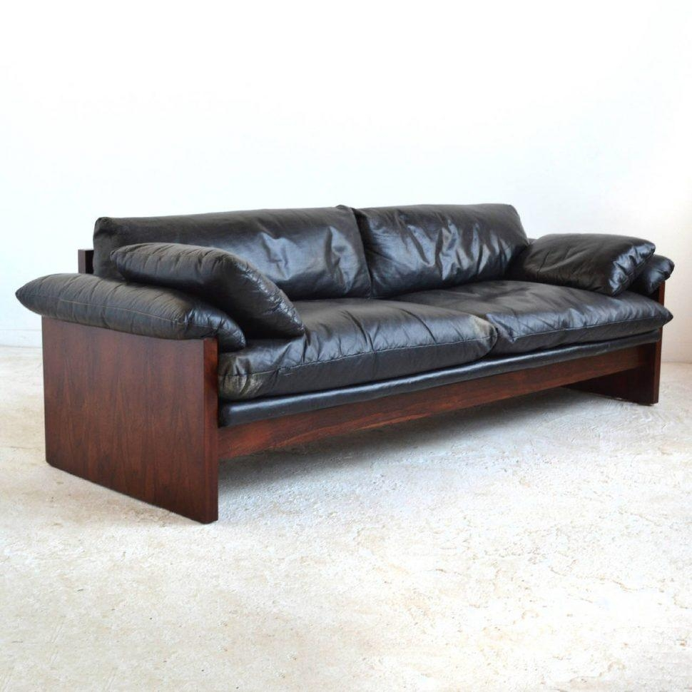 Sofas Center : Rosewood Sofa With Down Filled Leather Cushions At Intended For Down Filled Sofa Sectional (Image 11 of 15)