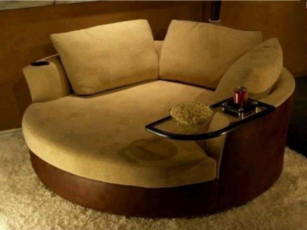 Sofas Center : Round Sofa Chair Ashley Furniture Large Big Trendy Regarding Big Round Sofa Chairs (Image 15 of 20)