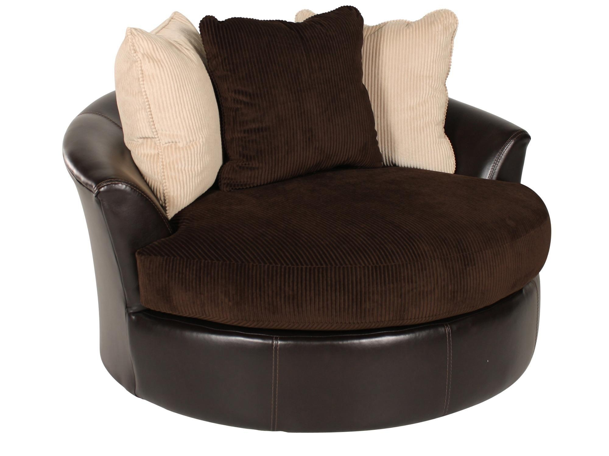 Sofas Center : Round Sofa Chair Swivel Accent And Oversized In Round Sofa Chair (Image 18 of 20)