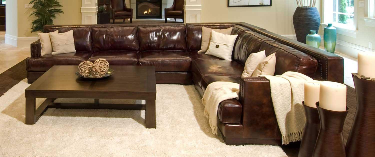 Sofas Center : Rusticctional Sofas Literarywondrous Photo Concept With Regard To Large Leather Sectional (View 16 of 20)