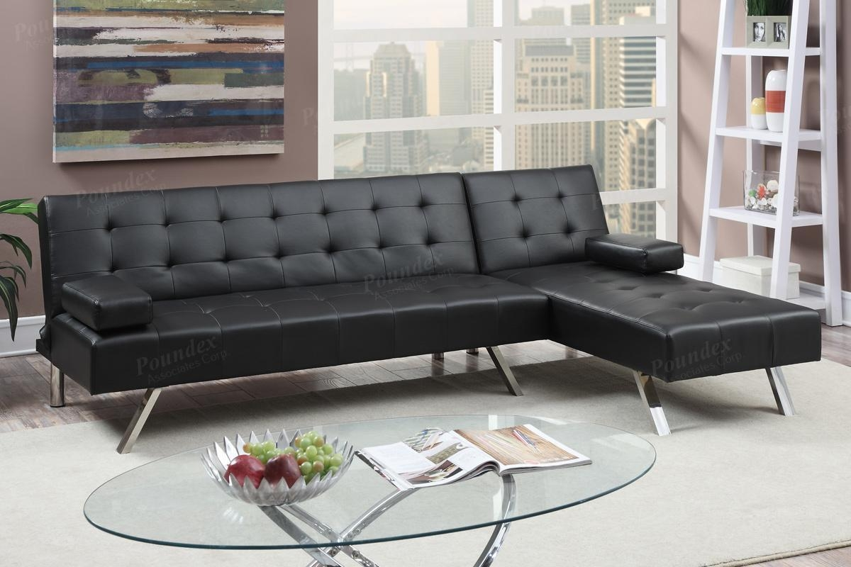 20 top sectional sofas for small spaces with recliners for Small spaces sectional sofa black faux leather
