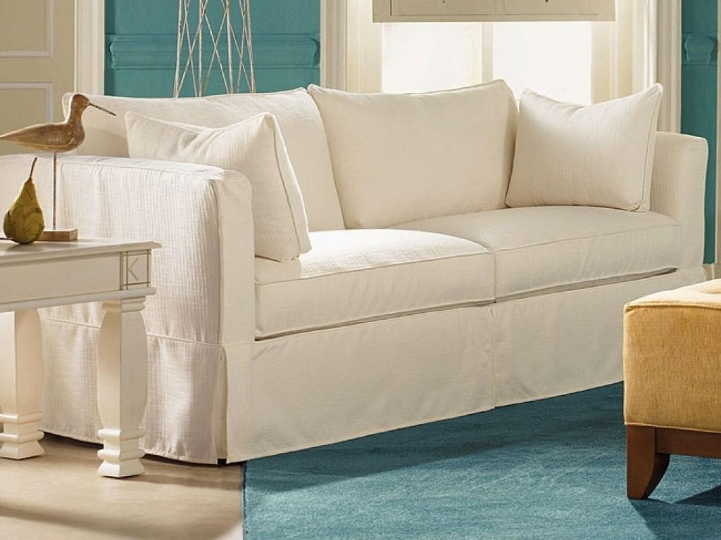 Sofas Center : Sectional Sofa Slipcovers Simple Stripe Chenille Pertaining To Arhaus Slipcovers (Photo 12 of 20)