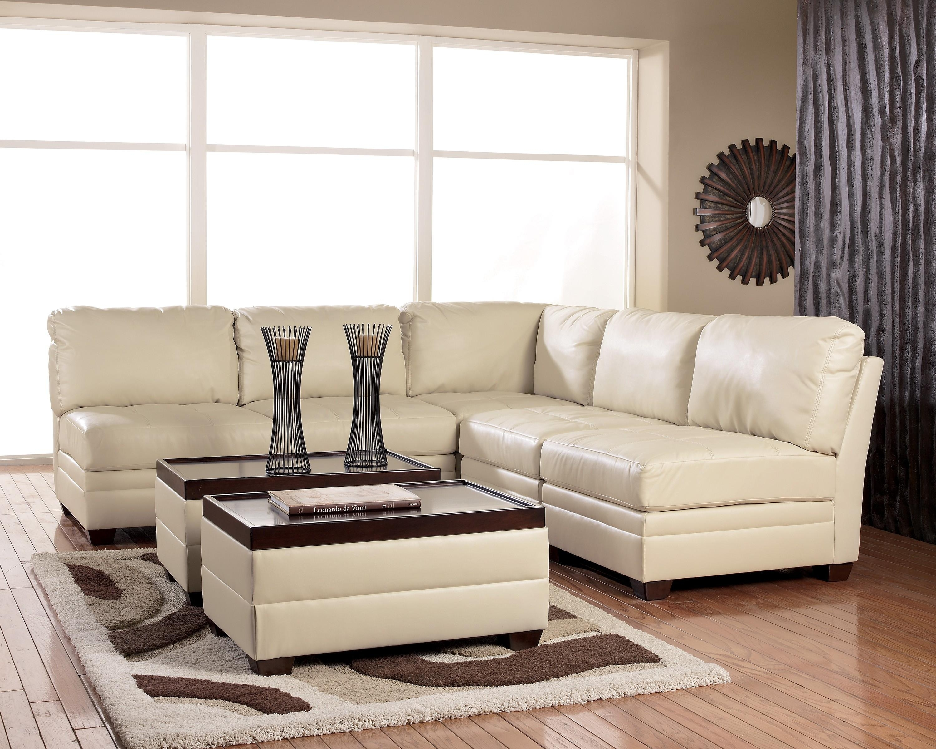 Featured Image of Ashley Faux Leather Sectional Sofas