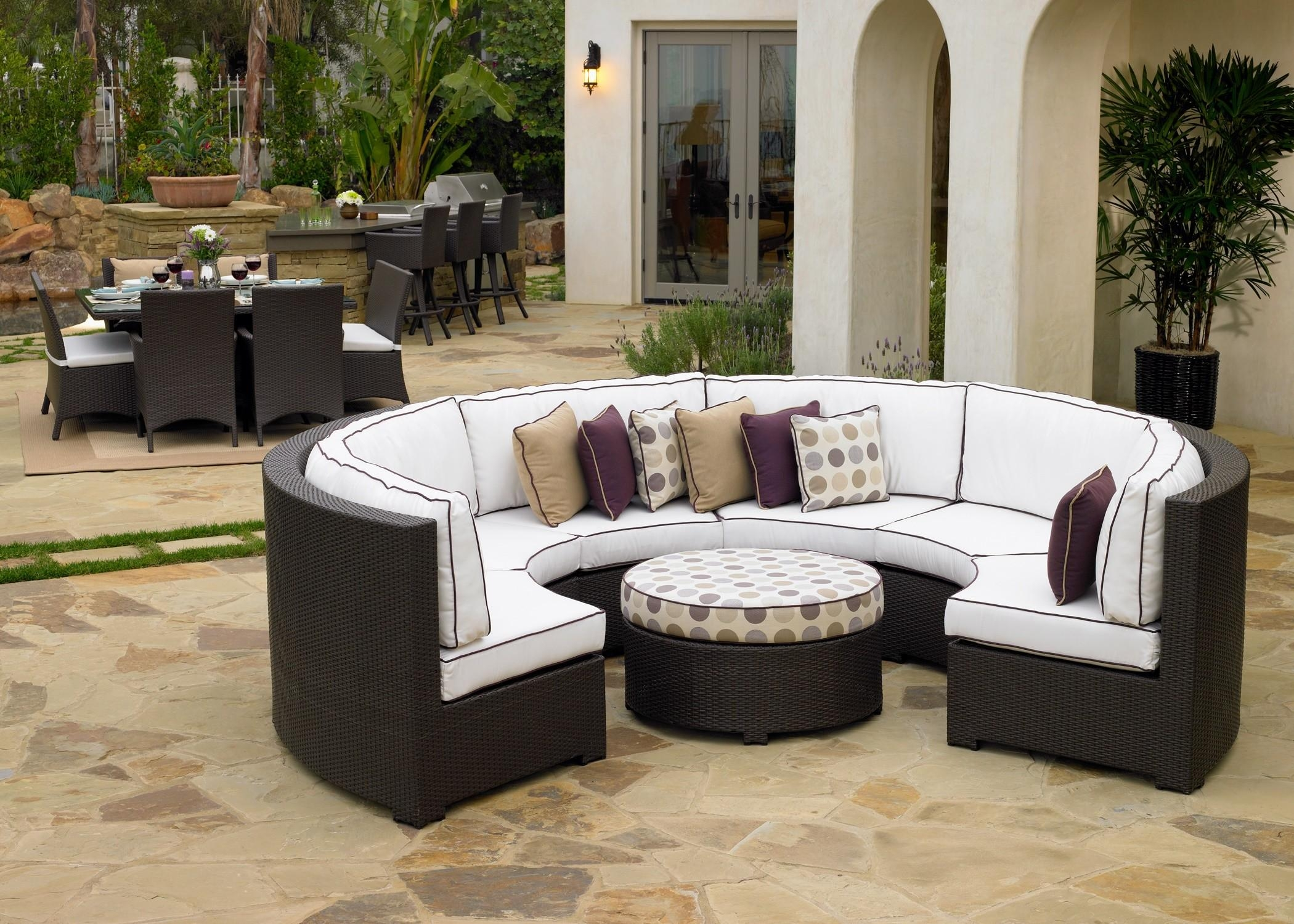Sofas Center : Semi Circular Sofa Couchsemi Circle Sectional Table With Semicircular Sofa (Image 18 of 20)