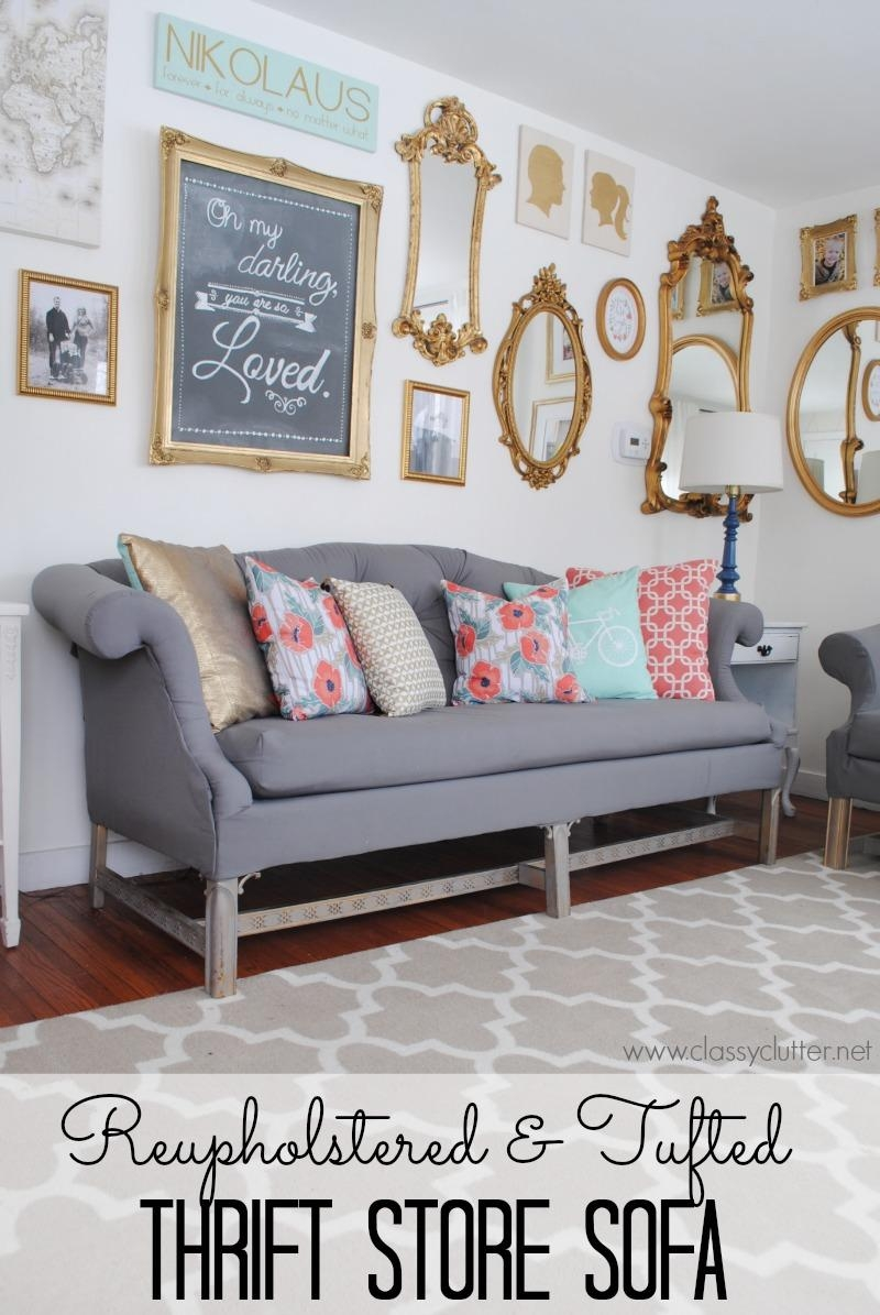 Sofas Center : Sensational How To Upholster Sofa Pictures Ideas In Reupholster Sofas Cushions (View 7 of 20)