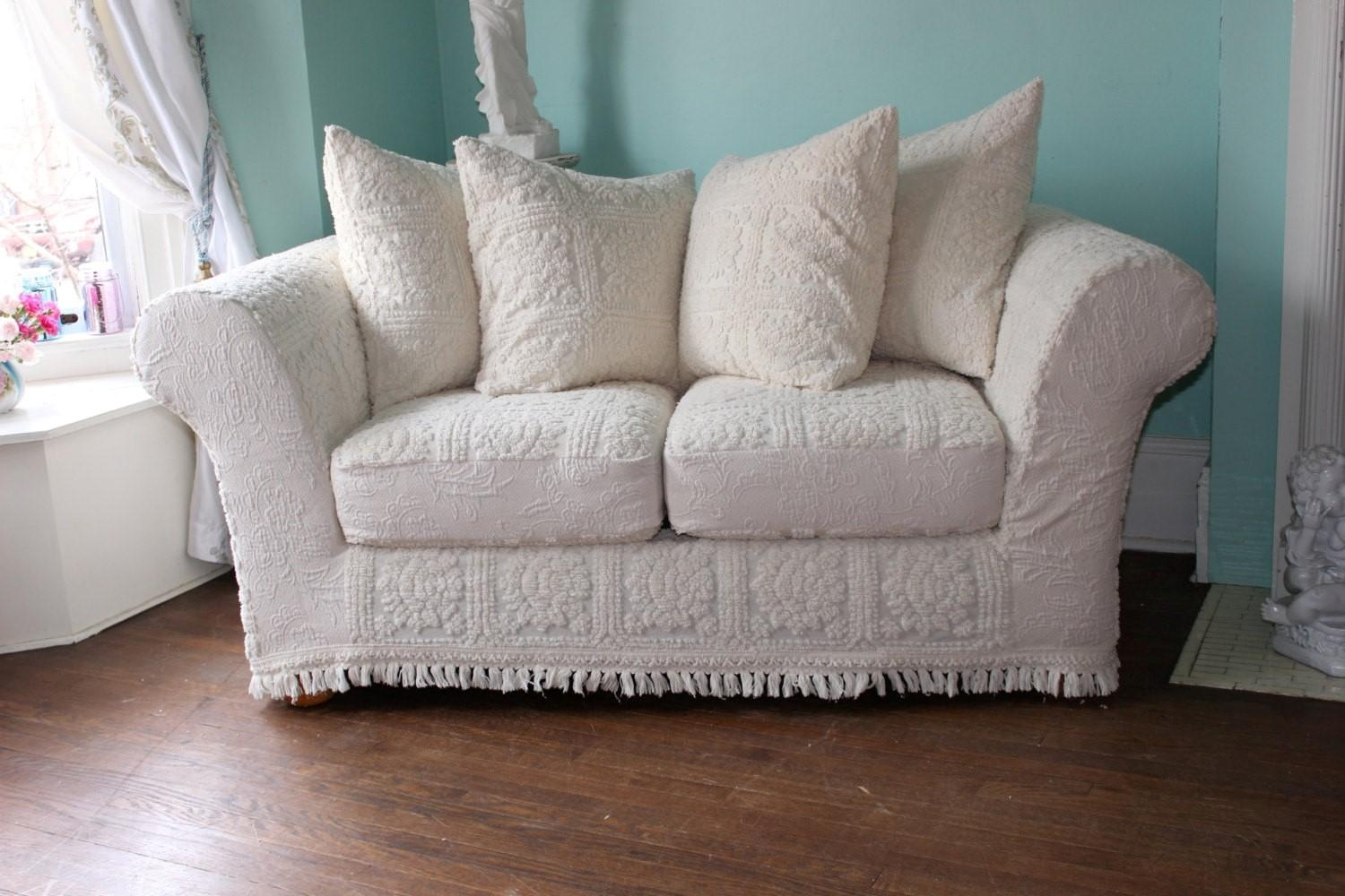 Sofas Center : Shabby Chic Sofa And Loveseat Slipcoversshabby With Regard To Shabby Chic Sofa Slipcovers (View 10 of 20)