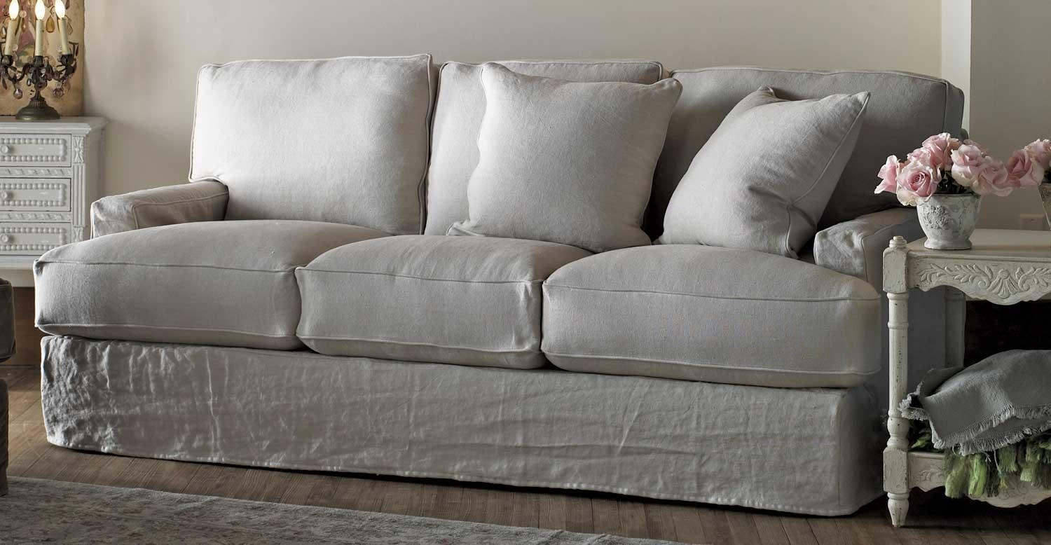 Sofas Center : Shabby Chic Sofa Sets Cottage Covers Slipcovers With Shabby Chic Sofas Cheap (View 10 of 20)