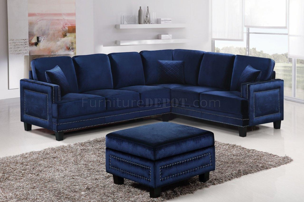 Sofas Center : Shocking Navyectionalofa Photo Inspirations For Blue Leather Sectional Sofas (View 18 of 20)