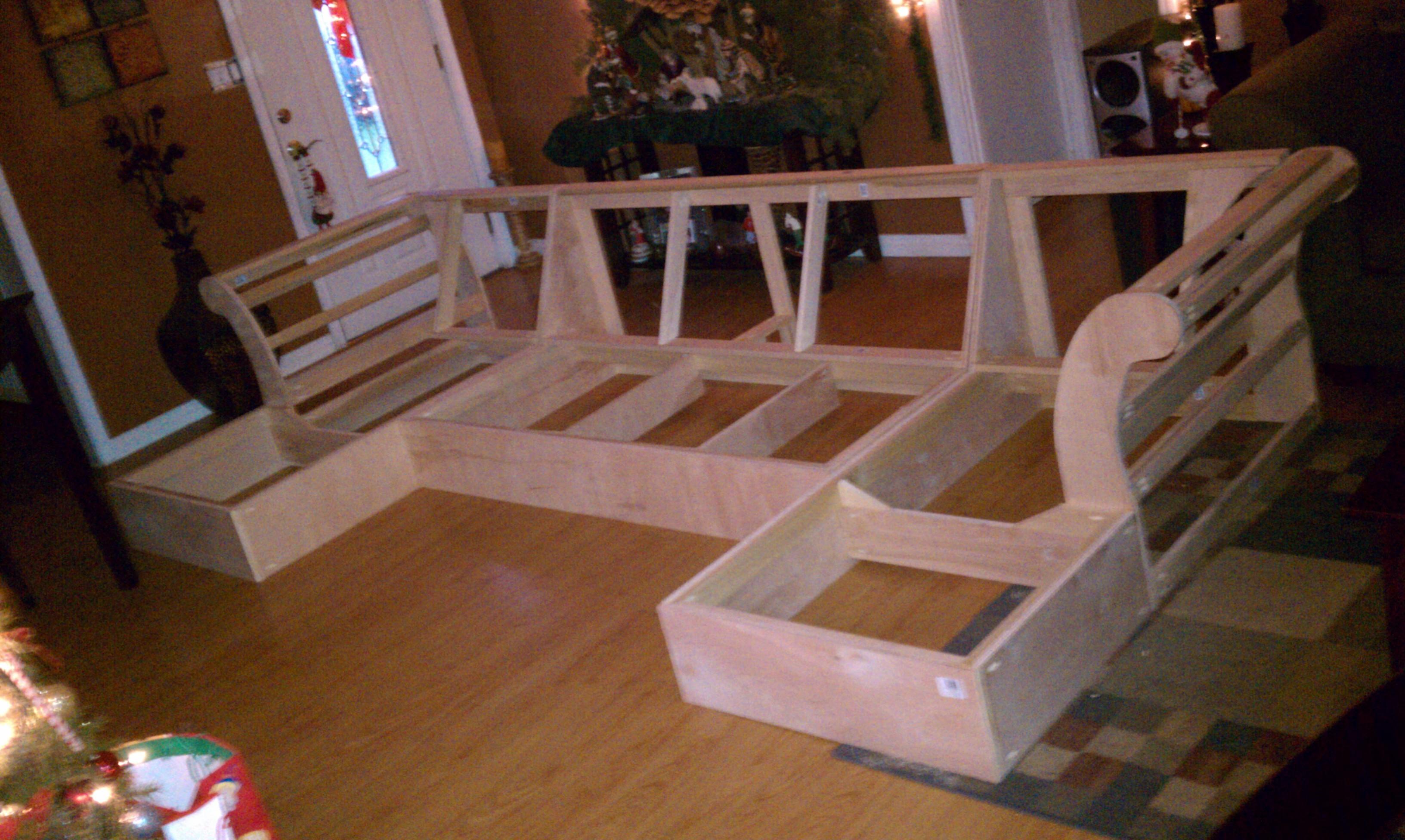 Sofas Center : Show Diy Sectional Sofas Sofa Plans Frame Cover For Inside Diy Sectional Sofa Frame Plans (View 7 of 15)