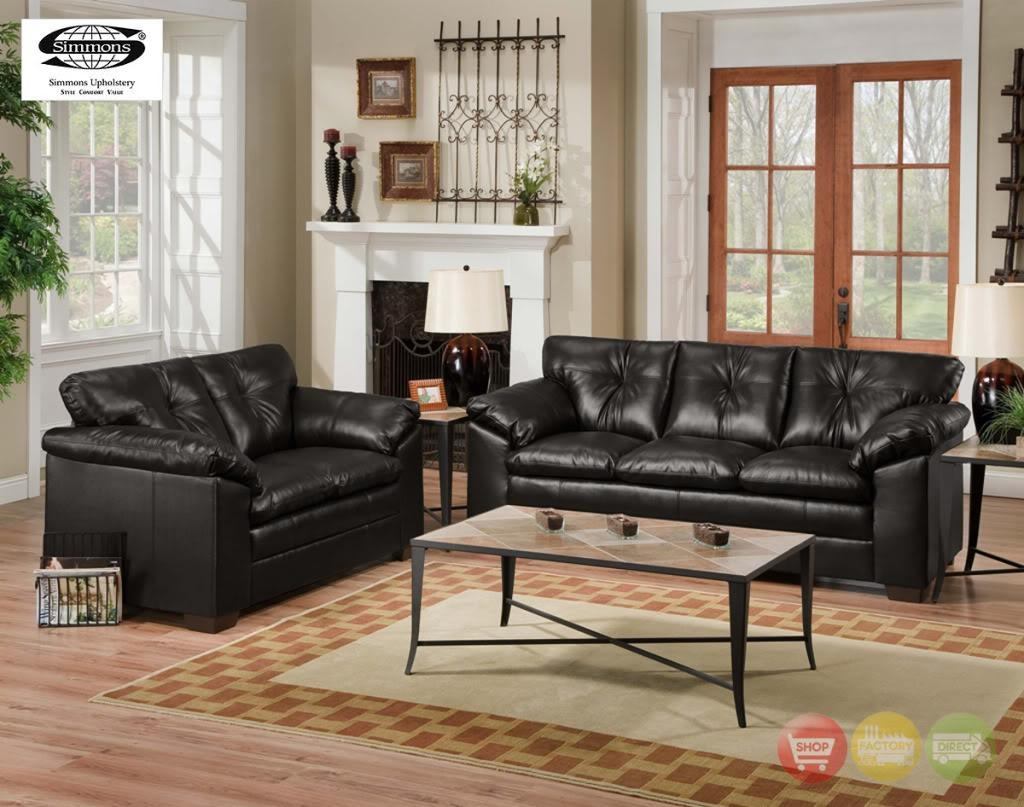 Sofas Center : Simmons Leather Sofa And Loveseat Sofas Loveseats Regarding Simmons Leather Sofas And Loveseats (Image 16 of 20)