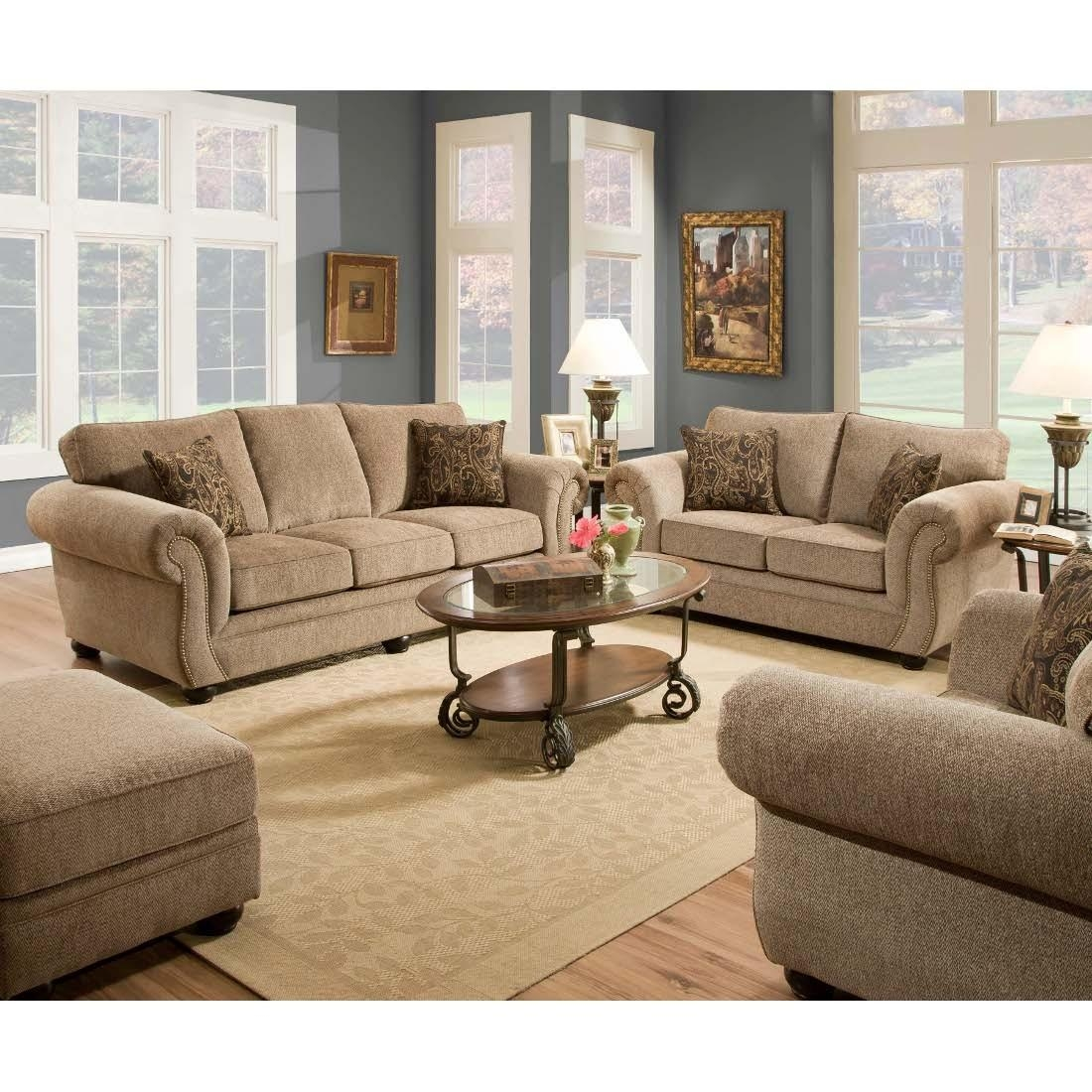 Sleeper Chair And Loveseat Set