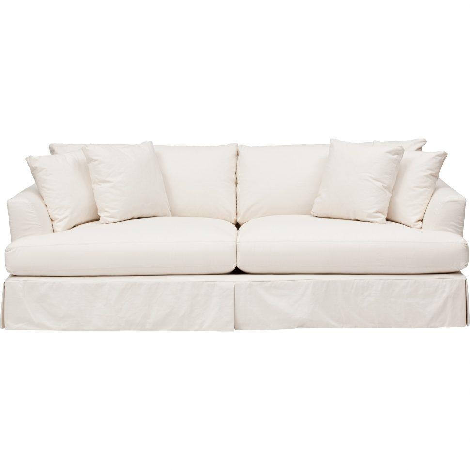 Sofas Center : Slipcovered Sofa Bench Seat Style Slipcover Intended For Slipcover Style Sofas (Image 18 of 20)