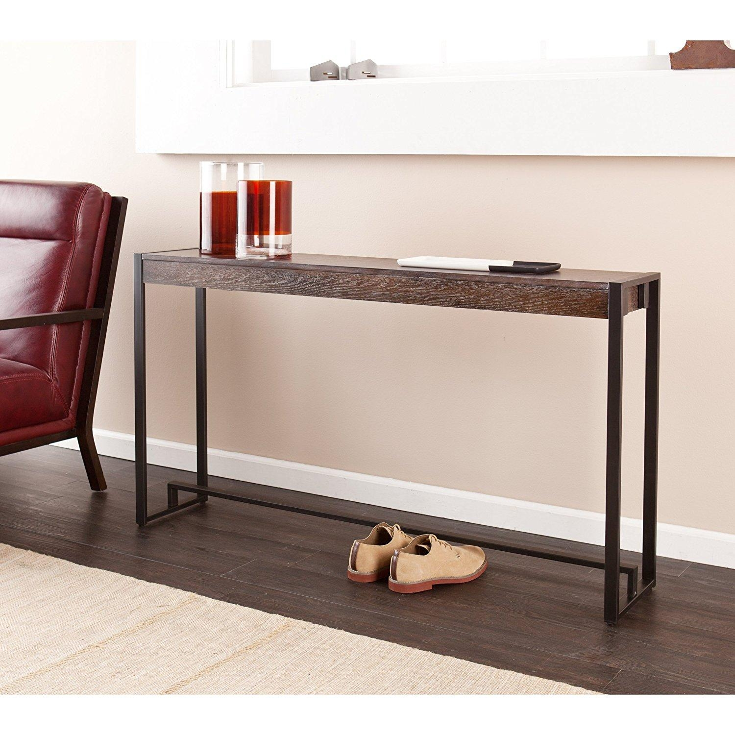 Sofas Center : Sofa Back Table Console Tables Ikea Black At Home Throughout Sofa Back Console (Photo 4 of 20)