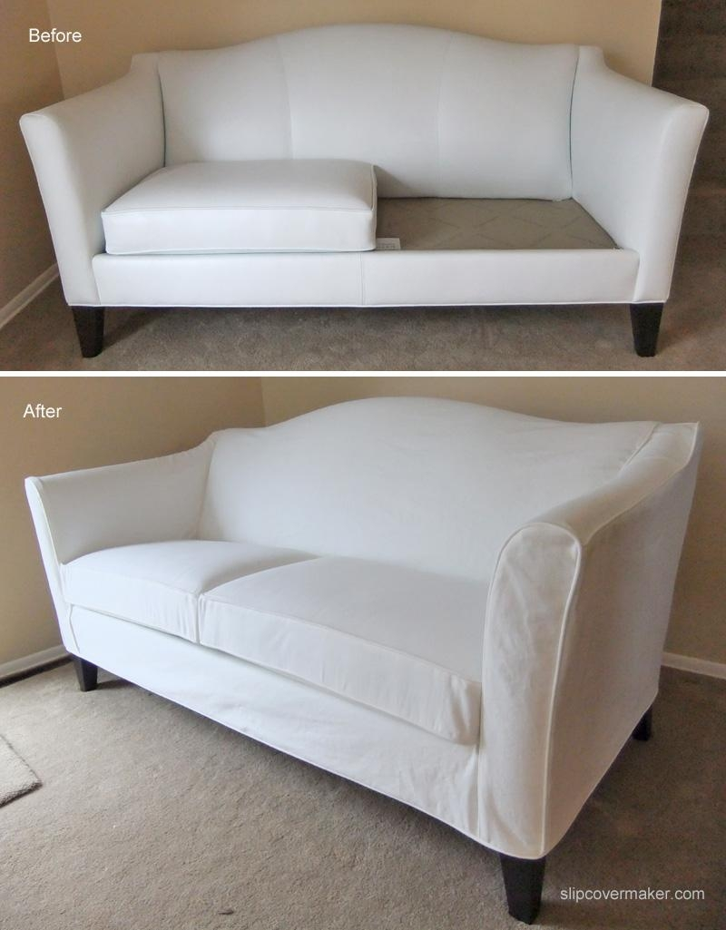 Sofas Center : Sofa Cover For Camelback Slipcover Chippendale Intended For Camelback Slipcovers (Image 17 of 20)