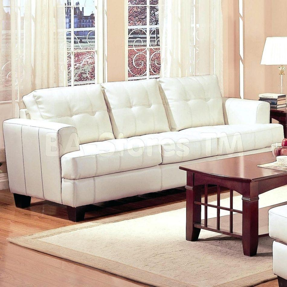 20 Choices Of White Leather Sofas: 20+ Choices Of Sofas With Support Board