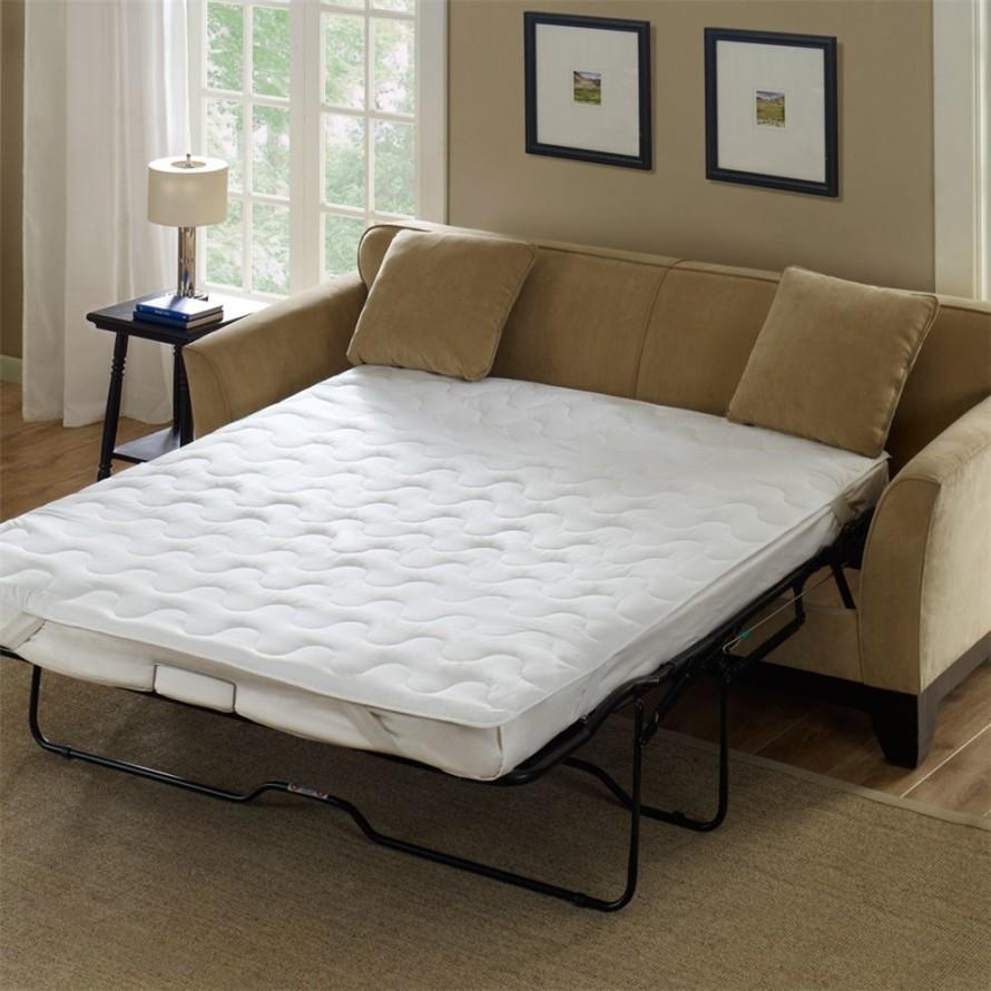 Sleeper sofa mattress cover awesome sleeper sofa mattress for Sleeper sofa covers design