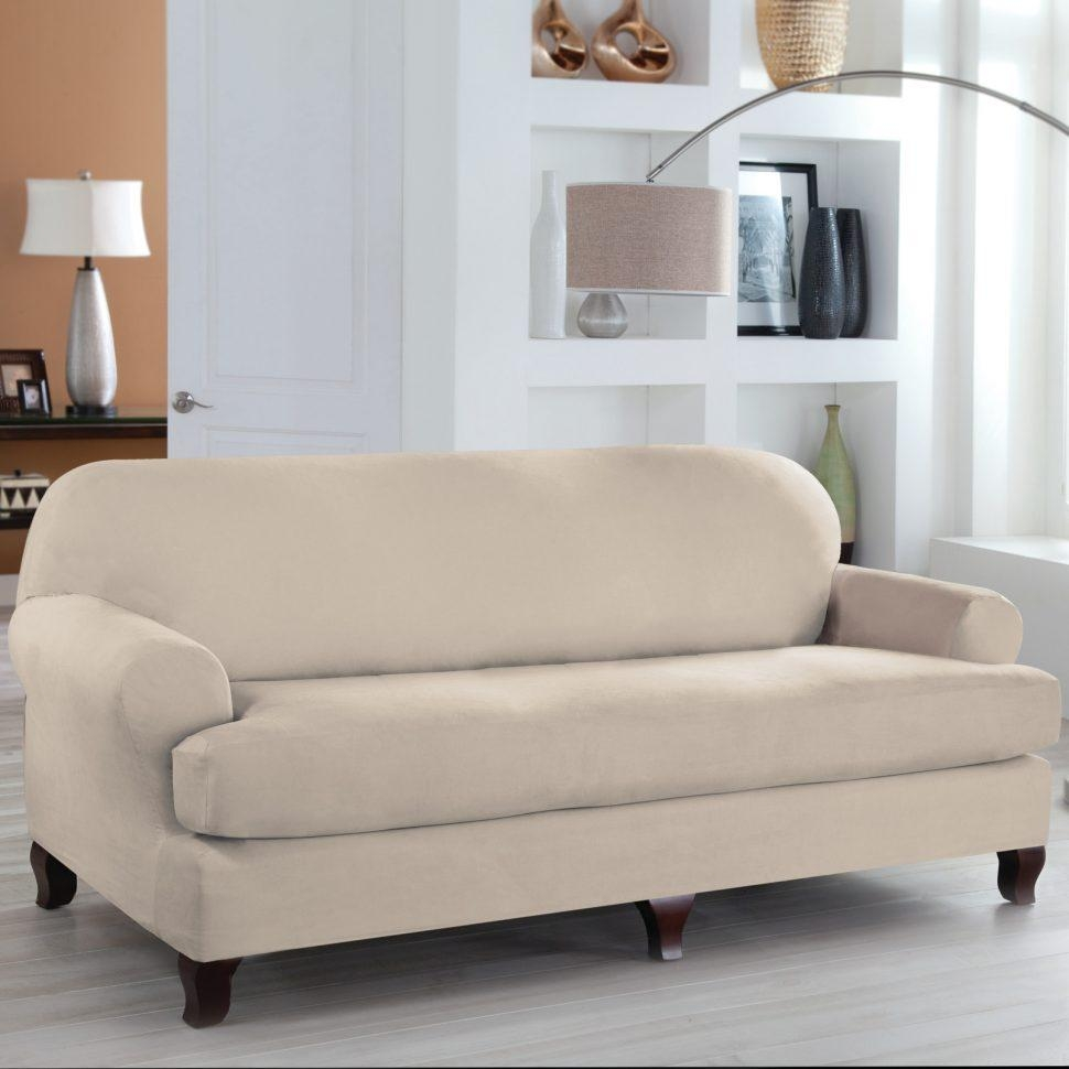 Sofas Center : Sofa T Cushion Slipcovers Denim Separate Cushions In T Cushion Slipcovers For Large Sofas (View 14 of 20)