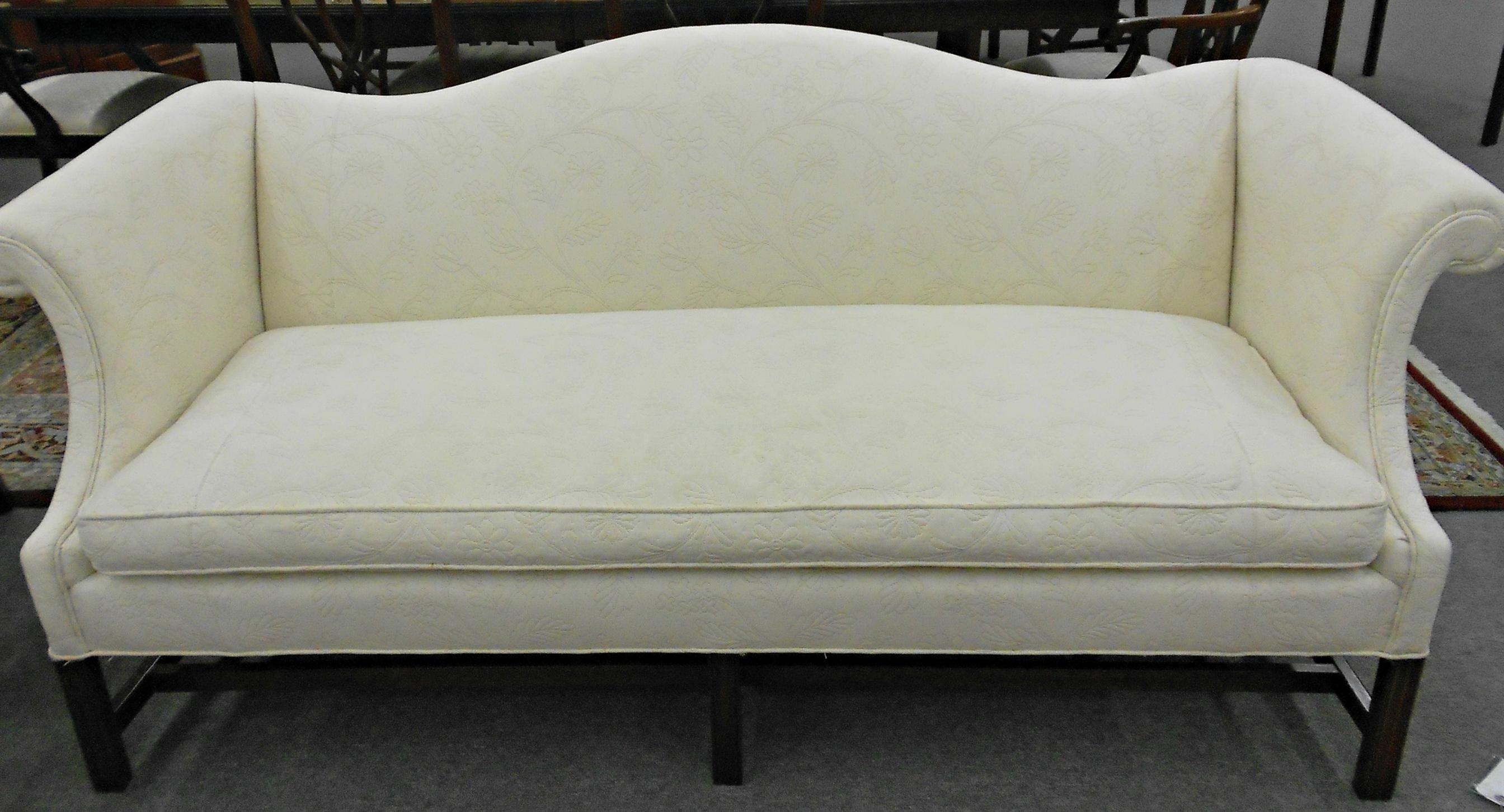 Sofas Center : Sofa White Camel Back Couch Beautiful Slipcover For With Camelback Slipcovers (Image 18 of 20)