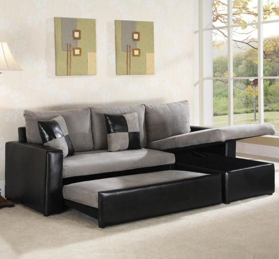 Sofas Center : Sofa With Pull Out Sectional Equipped Grey And Regarding Pull Out Sectional (Image 18 of 20)