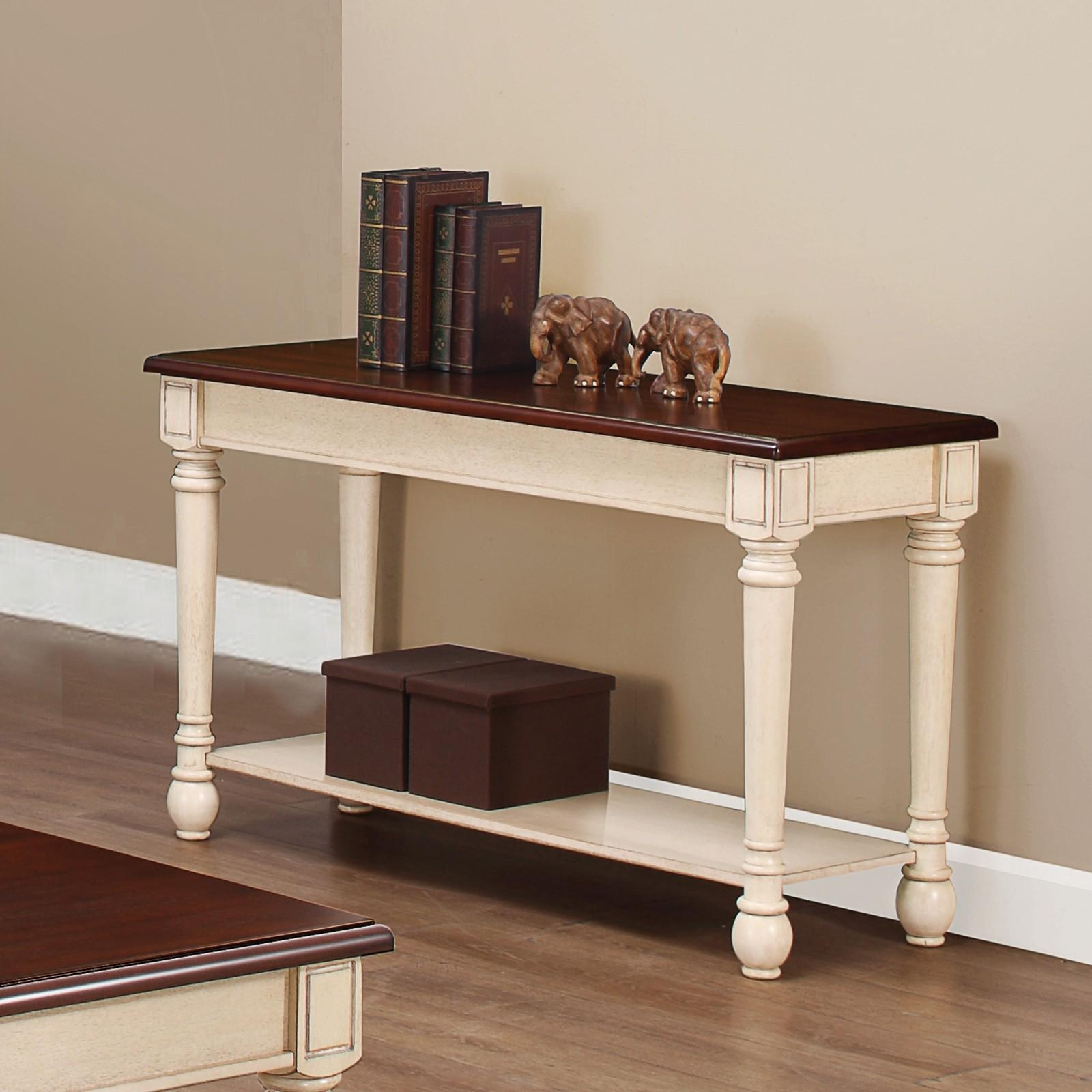 Sofas Center : Solid Wood Sofa Table Narrow Tables Woodsolid In Country Sofa Tables (Image 18 of 20)