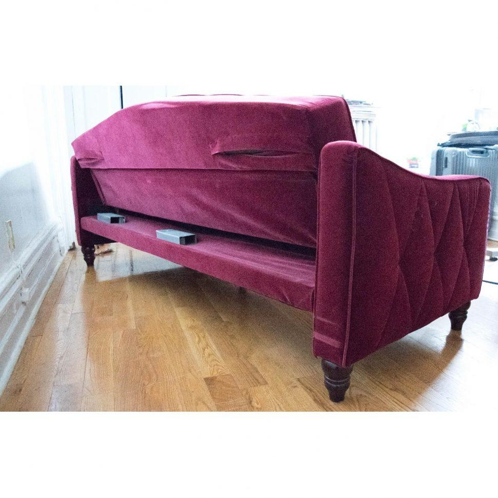 Sofas Center : Staggering Ava Velvet Tufted Sleeper Sofa Picture With Ava Velvet Tufted Sleeper Sofas (Image 19 of 20)