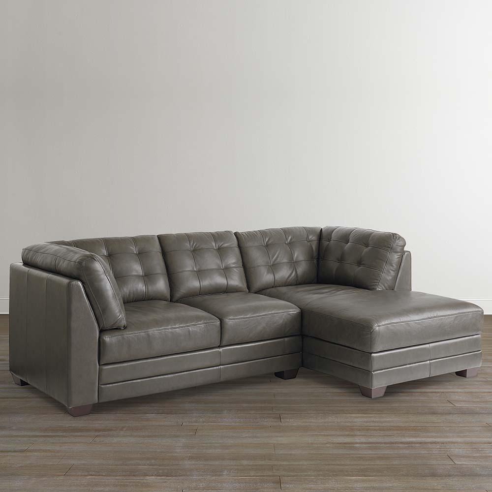 Sofas Center : Striking Leather Chaise Sofa Photo Ideas Lounge Regarding Black Leather Chaise Sofas (Image 20 of 20)
