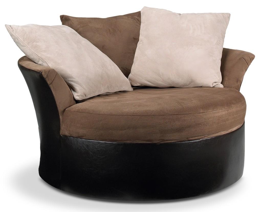 Sofas Center : Stunning Round Swivel Sofa Chair Shocking Picture In Round Swivel Sofa Chairs (Image 18 of 20)