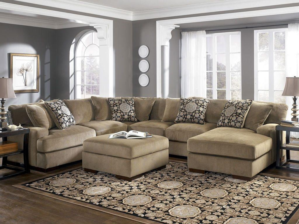 Sofas Center : Stupendous Oversized Sectional Sofas Image Ideas With Large Microfiber Sectional (View 17 of 20)