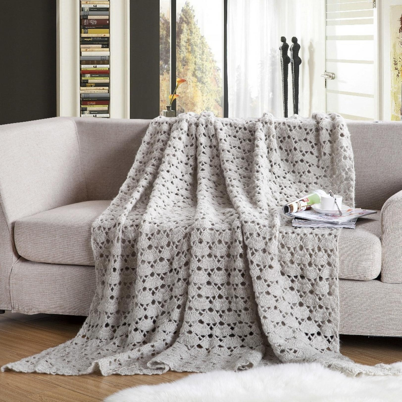 Sofas Center : Surprisingw Blankets For Sofa Photos Design Best Inside Cotton Throws For Sofas And Chairs (Image 15 of 20)