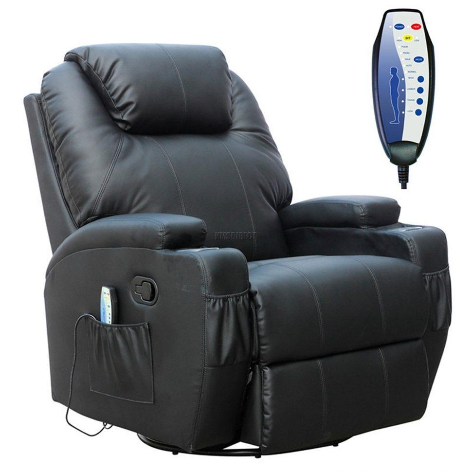Sofas Center : Swivel Sofa Chair Massage Leather Electric Black Within Swivel Sofa Chairs (View 19 of 20)